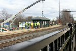 Yardley station dismantling